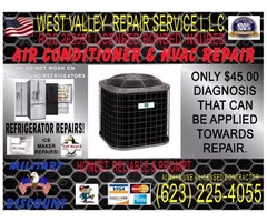 Hvac and Air Conditioner Repair Service compressor need replaced freon r22 410a