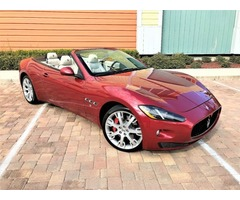 2013 Maserati Gran Turismo Base Convertible 2-Door