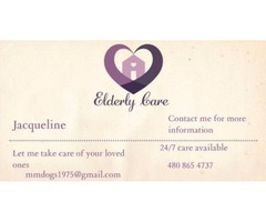 Elderly Care by Jacqueline