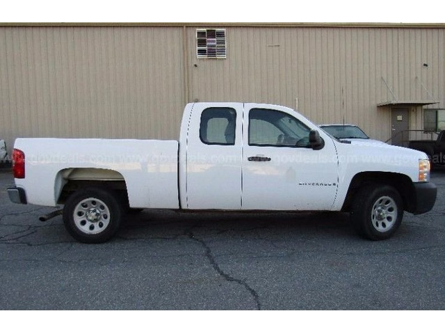 2008 chevrolet silverado 1500 work truck ext cab short box 2wd auctions little rock. Black Bedroom Furniture Sets. Home Design Ideas