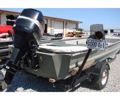 97, 1754 War Eagle with 75 Horse Power Mercury 2-stroke Motor | free-classifieds-usa.com