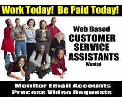 HELP WANTED!  CUSTOMER SERVICE ASSISTANTS NEEDED IN YOUR AREA PAYS $450+/DAY!