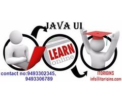 Java Ui free online live demo starts on 25/10/2017(wednesday)@9pm