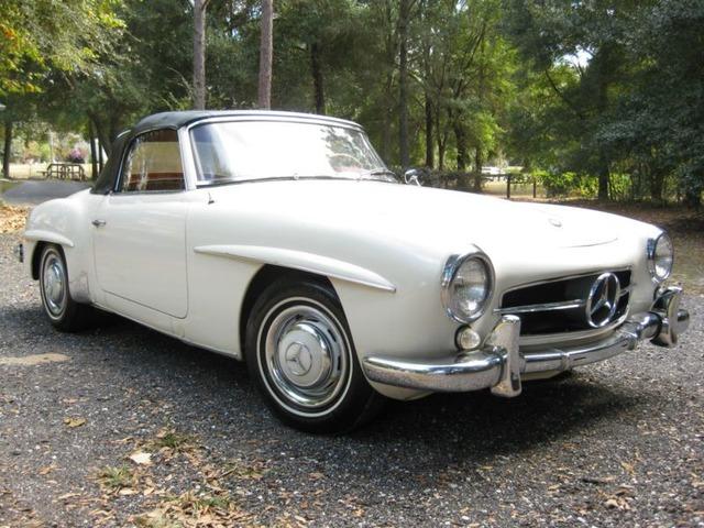 1960 Mercedes Benz SL Class 2 Door