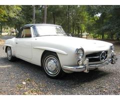 1960 Mercedes-Benz SL-Class 2 Door