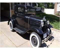 1930 Ford Model A Coupe-All Original & 1 Family Owner