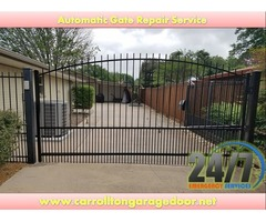 Automatic Gate Installation in Carrollton, TX