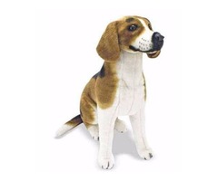 Melissa and Doug Basset Hound Plush Stuffed Animal