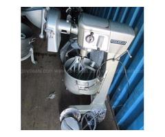 Hobart mixer and slicer