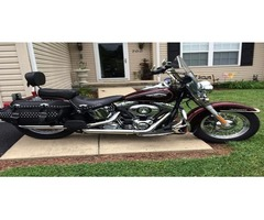 2015 Heritage Softail,Red & Black,7,100 miles
