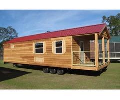 Rustic Cabin On Wheels