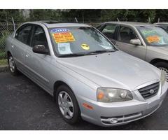 2005 Hyundai Elantra GLS 4-Door 5 SPEED