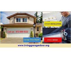 24/7 Emergency Garage Door Repair Service in Irving, Texas