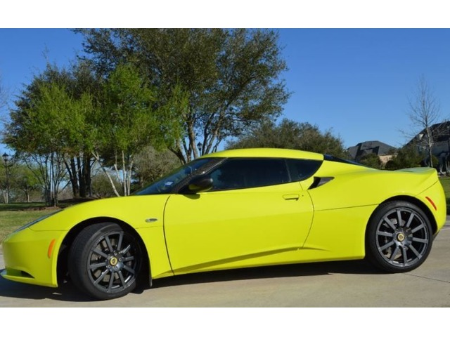 2010 Lotus Evora 22 Sports Cars Houston Texas Announcement