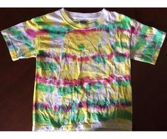 Tye Dye Short Sleeve T-Shirts