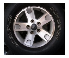 4 17 ford wheels with shipping available