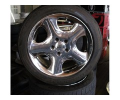4 17 inch antera wheels and tires with shipping available