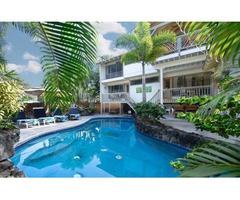 Kona Vacation Rental, 6 bdrm, 5 bth, private pool, steps to beach