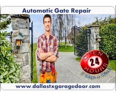 Commercial Automatic Gate Installation Dallas