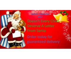 Personalised Santa Letter and Phonecall