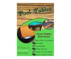 Installation: Hot Tub/ Pool Table