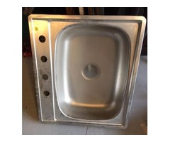 Single Aluminum Sink