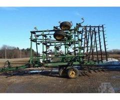 John Deere 980 32 Foot Field Cultivator For Sale