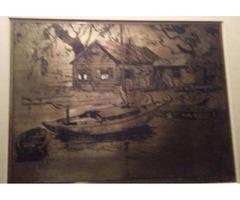 A original drews dad barrymore painting
