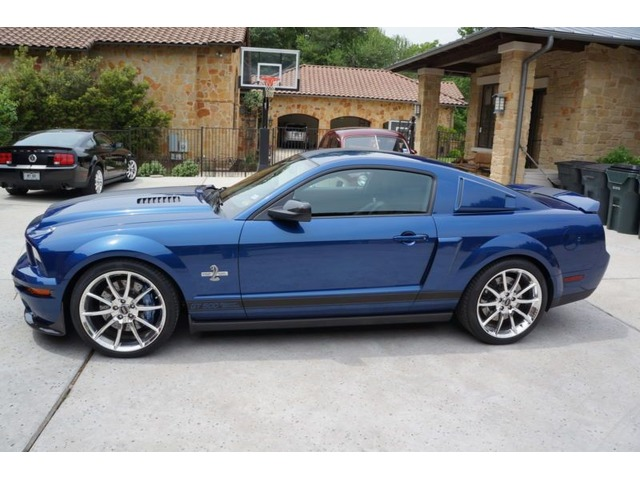 2007 Ford Mustang Shelby Gt500 Coupe 2 Door