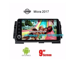 Nissan Micra 2017 radio Car android wifi GPS navigation camera | free-classifieds-usa.com