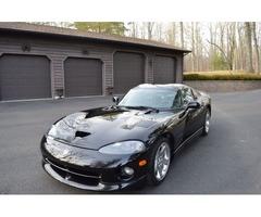 2000 Dodge Viper BLACK ON BLACK