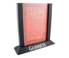 Acrylic Table Tents Acts A Promotional Items | free-classifieds-usa.com