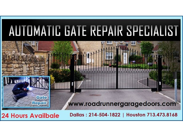 24 hours Commercial Gate Repair Service Houston, TX | free-classifieds-usa.com