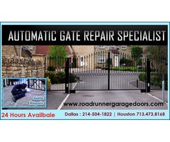 24 hours Commercial Gate Repair Service Houston, TX
