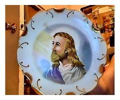 Jesus  wall plate