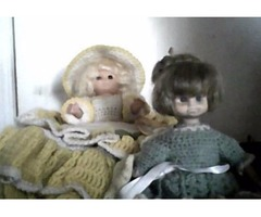 2 dolls for sale
