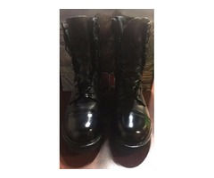 Rocky Trooper Jump Boots 10 inch Side Zip Size 8Mens BRAND NEW