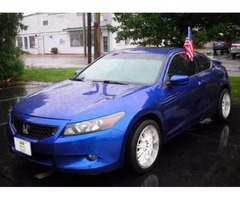 2OO8 Honda Accord EXL Coupe/Financing for EVERYONE