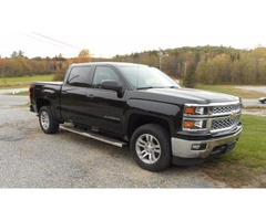 14 CHEVY SILVERADO CREW CAB LTZ 4X4 LOADED WITH ONLY 19K ON IT