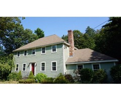 This spacious colonial features four bedrooms