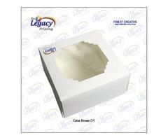Custom Printed Cake Packaging Boxes Wholesale