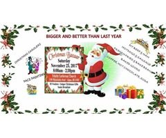TRINITY LUTHERAN CHURCH ANNUAL CHRISTMAS BAZAAR AND BREAKFAST WITH SANTA