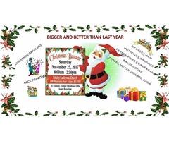 TRINITY LUTHERAN CHURCH ANNUAL CHRISTMAS BAZAAR AND BREAKFAST WITH SANTA