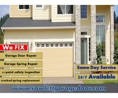 Expert Same Day Garage Door Repair Rowlett, TX
