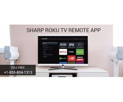 How to use Sharp Roku TV Remote App