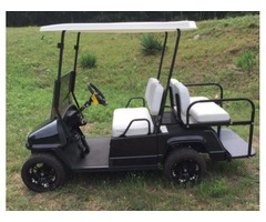 New Par Car Legacy Electric Golf Cart Black