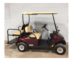 2017 EZGO Freedom TXT Gas Golf Cart Burgundy