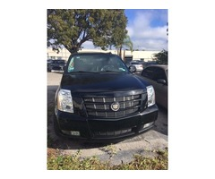 2013 Cadillac Escalade Black leather