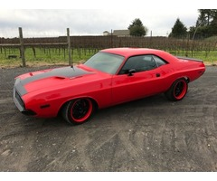 1973 Dodge Challenger black