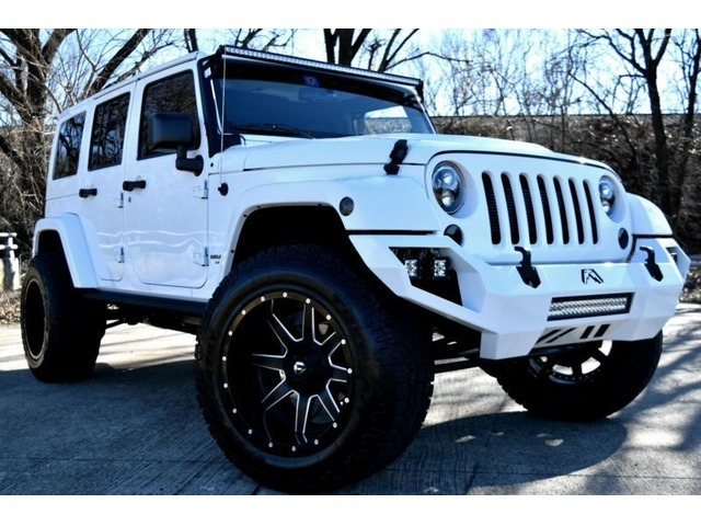 2016 Jeep Wrangler Unlimited Rubicon Sport Utility 4 Door